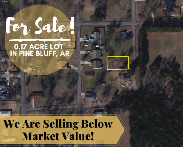 0.17 Acres for Sale in Pine Bluff, AR