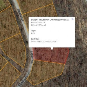 0.44 Acres for Sale in Bella Vista, AR