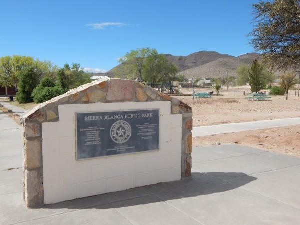 Nearby Sierra Blanca Public Park