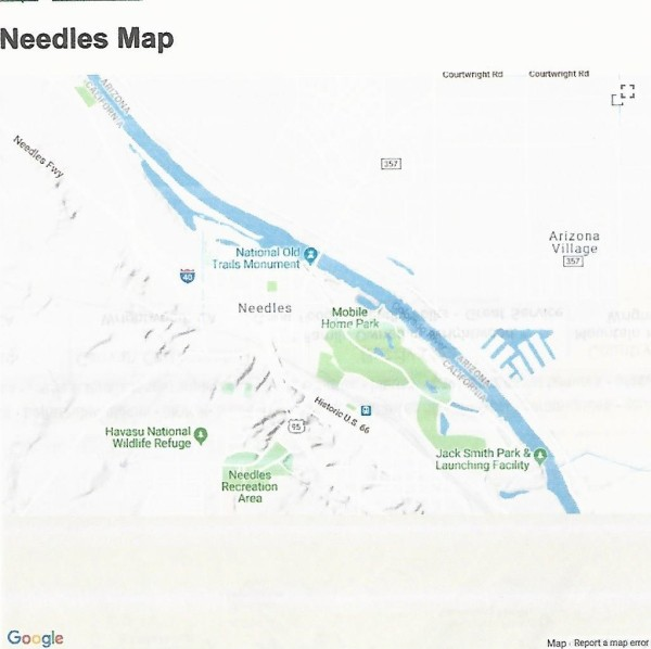 20 Acres for Sale in Needles, CA
