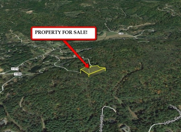 1.77 Acres for Sale in Hendersonville, NC