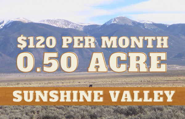 0.5 Acres for Sale in Sunshine Valley, NM