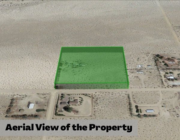 10 Acres for Sale in Newberry Springs, CA