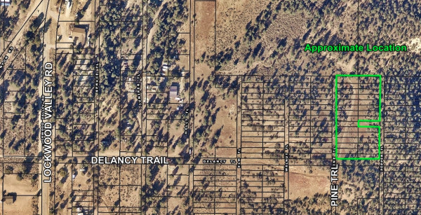 1.7 Acres for Sale in Frazier Park, CA
