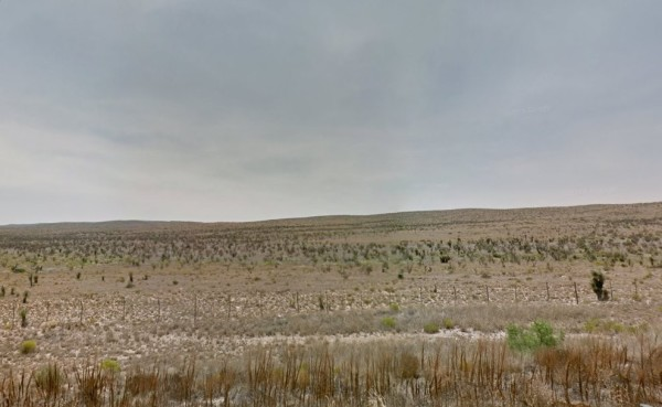 Hudspeth County terrain