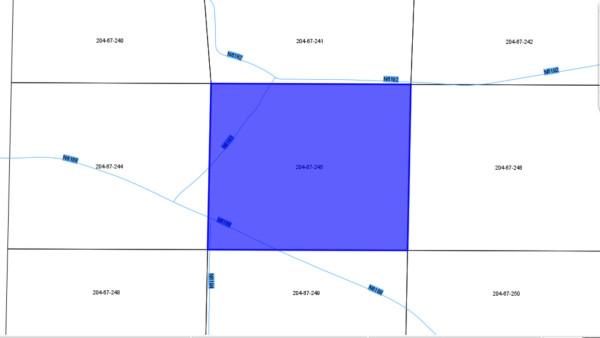 204-67-245 Apache 40.48 Acres Map1