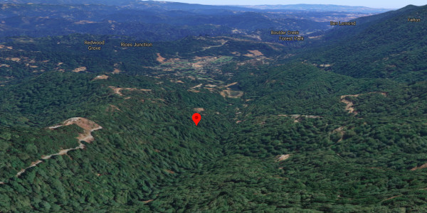 2.37 Acres for Sale in Boulder Creek, CA