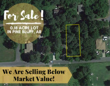 0.14 Acres for Sale in Pine Bluff, AR