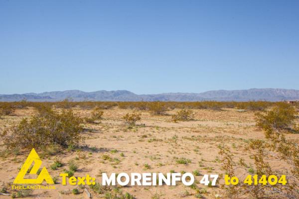 2.5 Acres for Sale in Twentynine Palms, CA