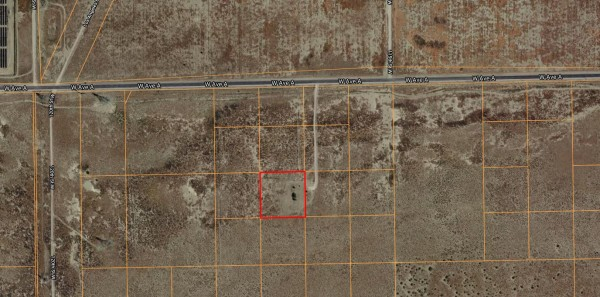 2.5 Acres for Sale in Antelope Acres, CA