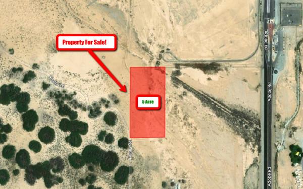 5 Acres for Sale in Twentynine Palms, CA