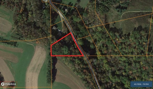 1.36 Acres for Sale in Rural Valley, PA