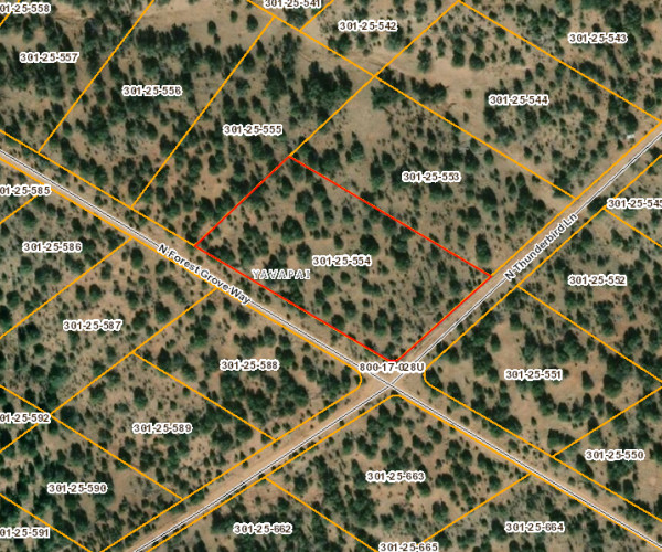 2.8 Acres for Sale in Seligman, AZ