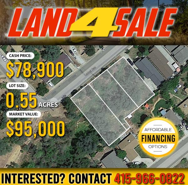 0.55 Acres for Sale in Redding, CA