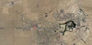 Property is just off of California City Blvd