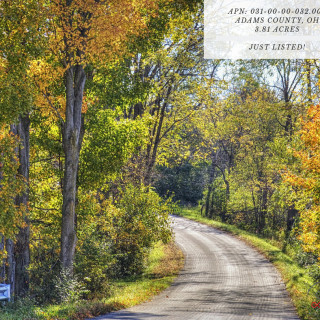 3.81 Acres for Sale in Peebles, OH