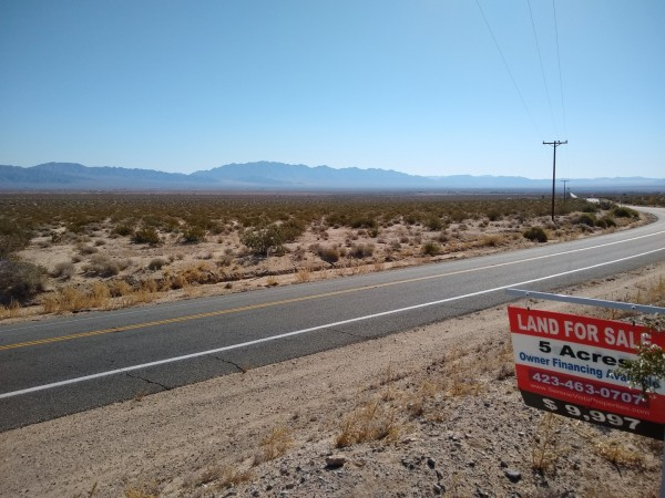 5 Acres for Sale in Twentynine Palms, CA