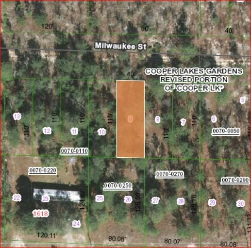 0.1 Acres for Sale in Hawthorne, FL