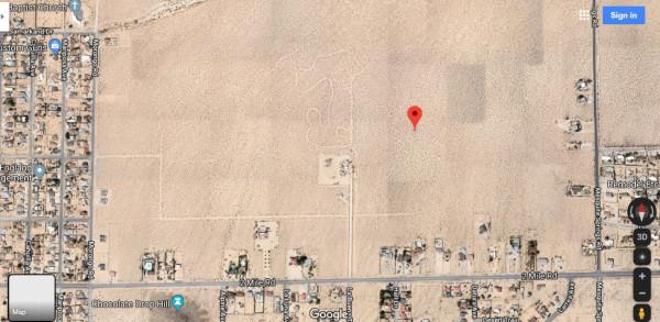 0.62 Acres for Sale in Twentynine Palms, CA