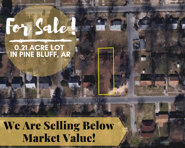 0.21 Acres for Sale in Pine Bluff, AR