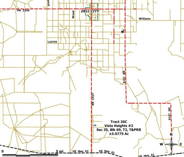 Tract 26 C Location Map