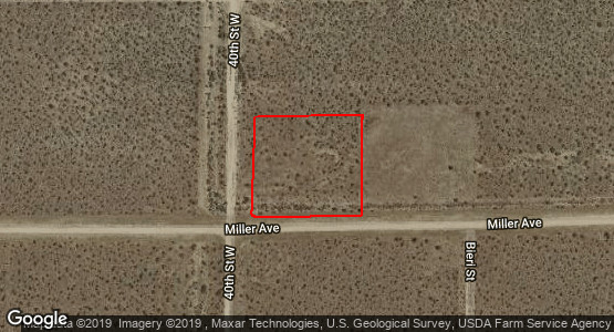 2.1 Acres for Sale in Mojave, CA