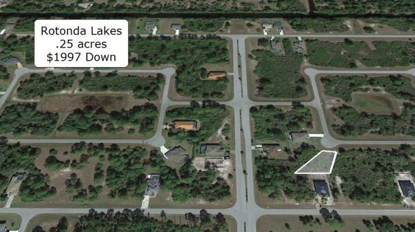 0.25 Acres for Sale in Rotonda West, FL