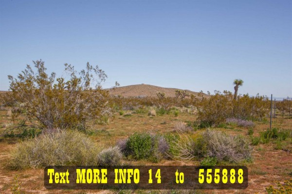 2.29 Acres for Sale in Joshua Tree, CA