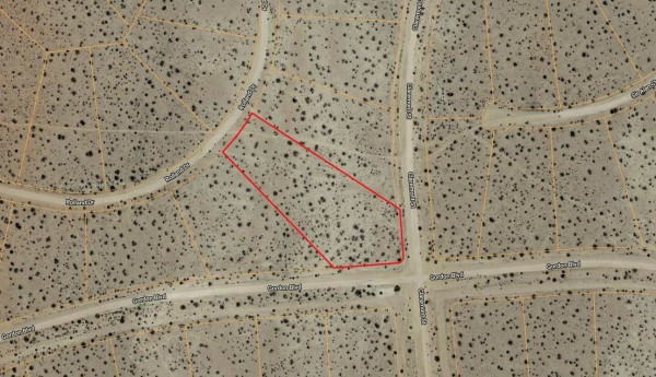 2.95 Acres for Sale in California City, CA
