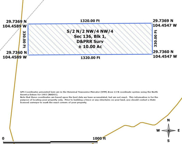 SN NWNW Sec136 Blk1 DPRR-GPS