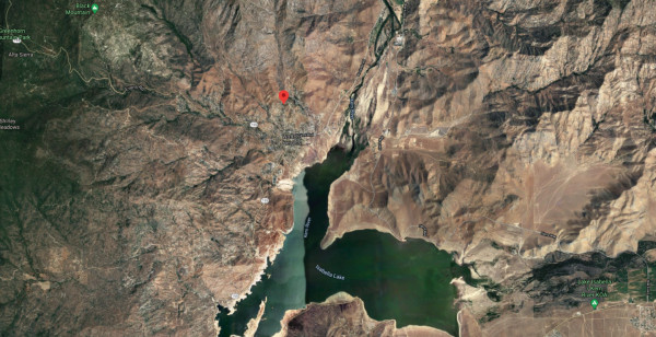 close to Lake Isabella
