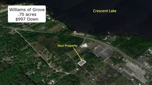 0.7 Acres for Sale in Crescent City, FL