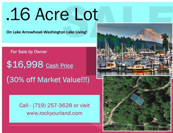 0.16 Acres for Sale in Elma, WA