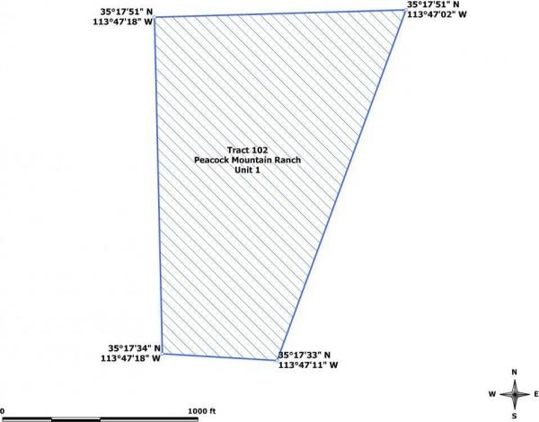 Tract 102 GPS coordinates map
