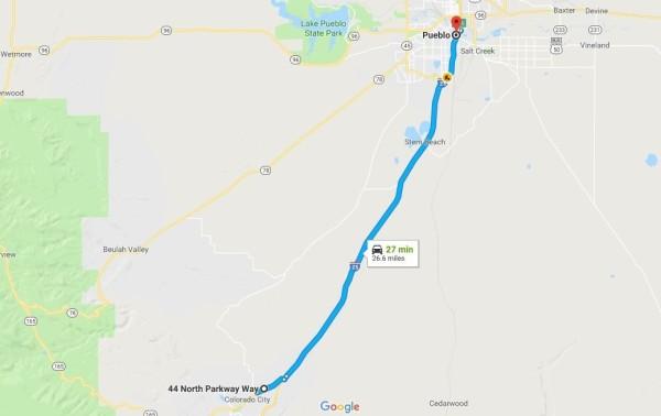 2.35 Acres for Sale in Colorado City, CO