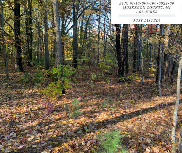 1.07 Acres for Sale in Muskegon, MI