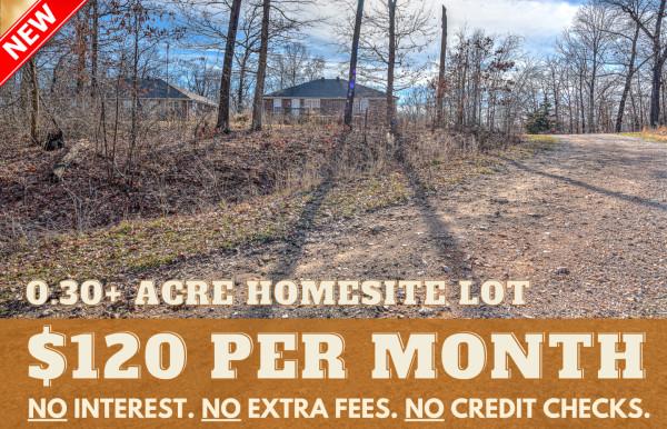 0.3 Acres for Sale in Bella Vista, AR