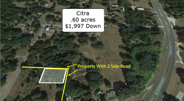 0.6 Acres for Sale in Citra, FL