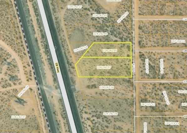 2 Lots for Sale in Mojave, CA