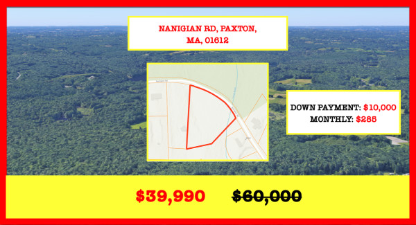 2.42 Acres for Sale in Paxton, MA