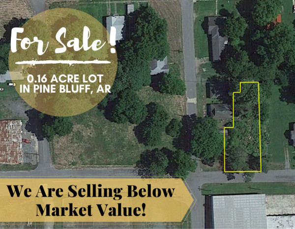 0.16 Acres for Sale in Pine Bluff, AR