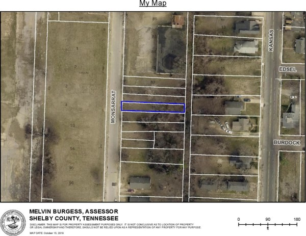 0.08 Acres for Sale in Memphis, TN