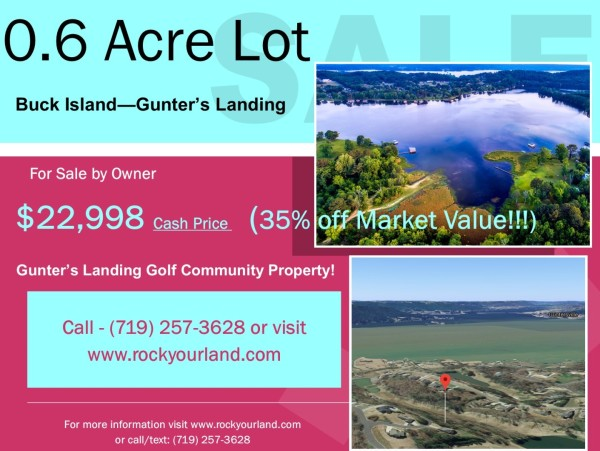 0.6 Acres for Sale in Guntersville, AL