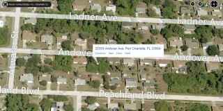 20359 Andover Ave - Bird's eye view