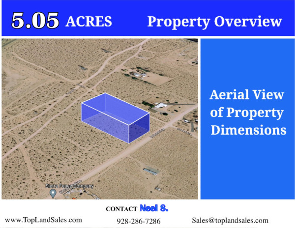 5.05 Acres for Sale in Ridgecrest, CA