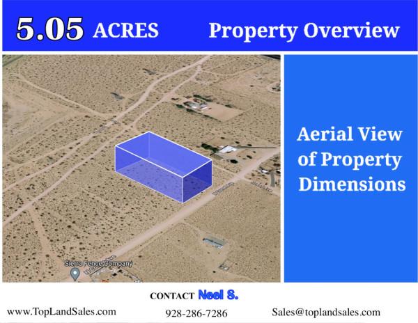 5.05 Acres for Sale in Ridgecrest, CA