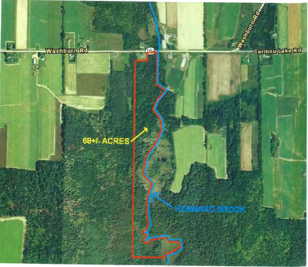 68 Acres for Sale in Washburn, ME