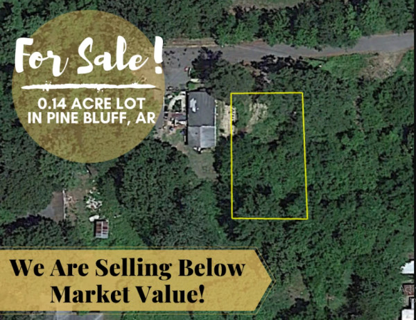 0.13 Acres for Sale in Pine Bluff, AR