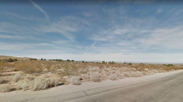 relatively flat land