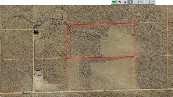 20 Acres for Sale in Mojave, CA